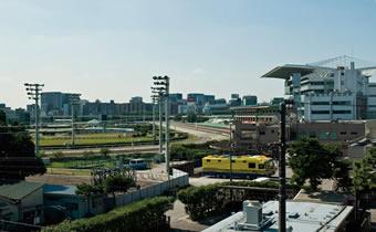エキサイトスポットのイメージ 東京モノレールの沿線には、エキサイトスポットである競馬場と競艇場が